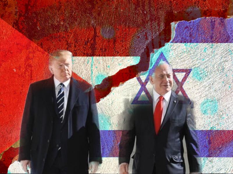 Premier Izraela, Binjamin Netanjahu, i Donald Trump