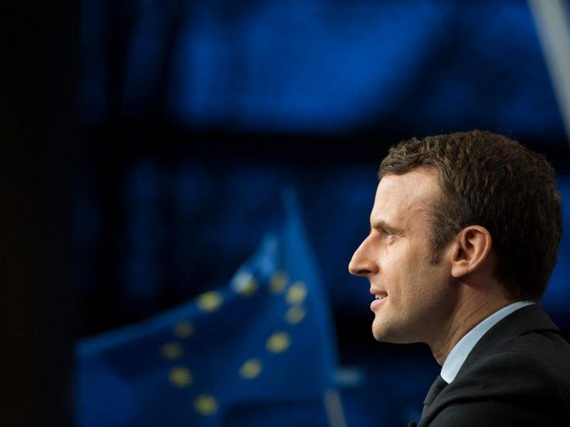 Prezydent Francji Emmanuel Macron, fot. @Emmanuel Macron [Facebook]