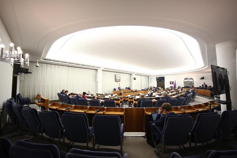 Senat obrady, źródło twitter PolskiSenat