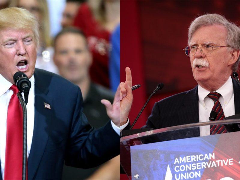 Prezydent USA Donald Trump i John Bolton, fot. @Flickr. Opracowanie: EURACTIV.pl