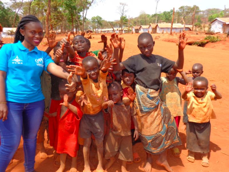 Zorganizowany przez UNHCR obóz dla uchodźców z Burundi w Tanzanii, źródło: Wikipedia, fot. Jasmine Gwamsy (CC BY-SA 4.0)