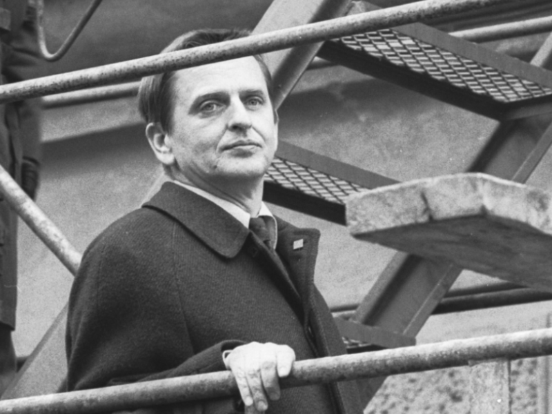 Olof Palme we wczesnych latach 70. (fot. Wikipedia/Oiving, CC BY-SA 3.0)