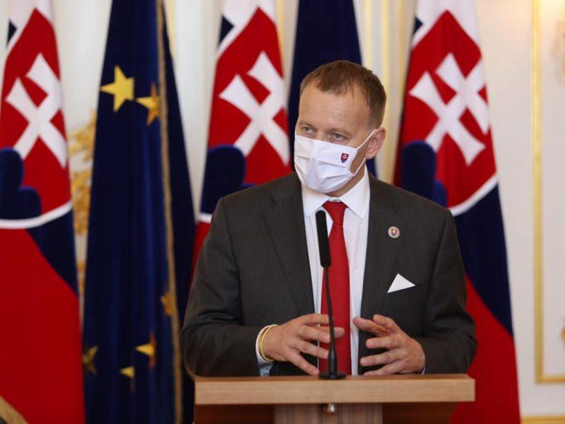 Przewodniczący Rady Narodowej Słowacji Boris Kollár [Facebook, @BorisKollarOfficial]