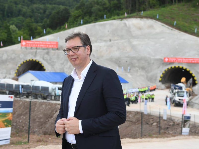 Prezydent Serbii Aleksandar Vučić [Facebook, Aleksandar Vučić]