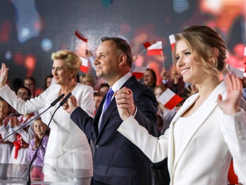 Andrzej Duda, Agata Duda i Kinga Duda, fot. @Andrzej Duda [Facebook]