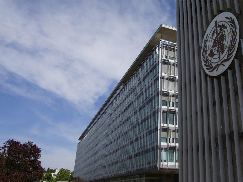 Siedziba WHO w Genewie w Szwajcarii, źródło: Flickr/U.S. Mission Geneva, fot. Eric Bridiers (CC BY-ND 2.0)