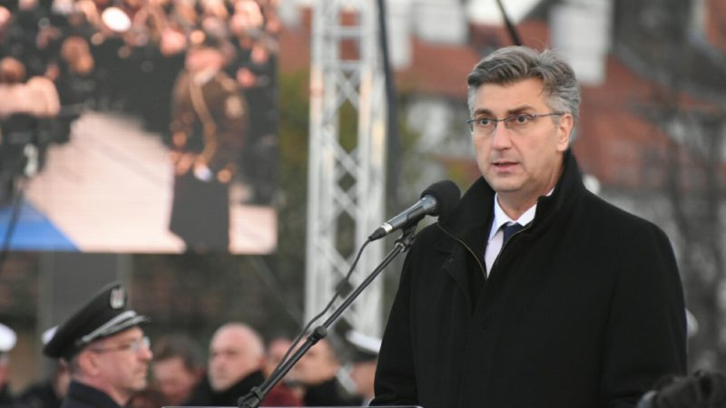 Premier Chorwacji Andrej Plenković, fot. Vlada Republike Hrvatske [Flickr]