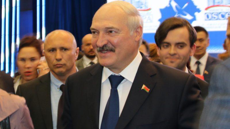 Prezydent Białorusi Alaksandr Łukaszenka [Flickr, OSCE Parliamentary Assembly, CC BY-SA 2.0]