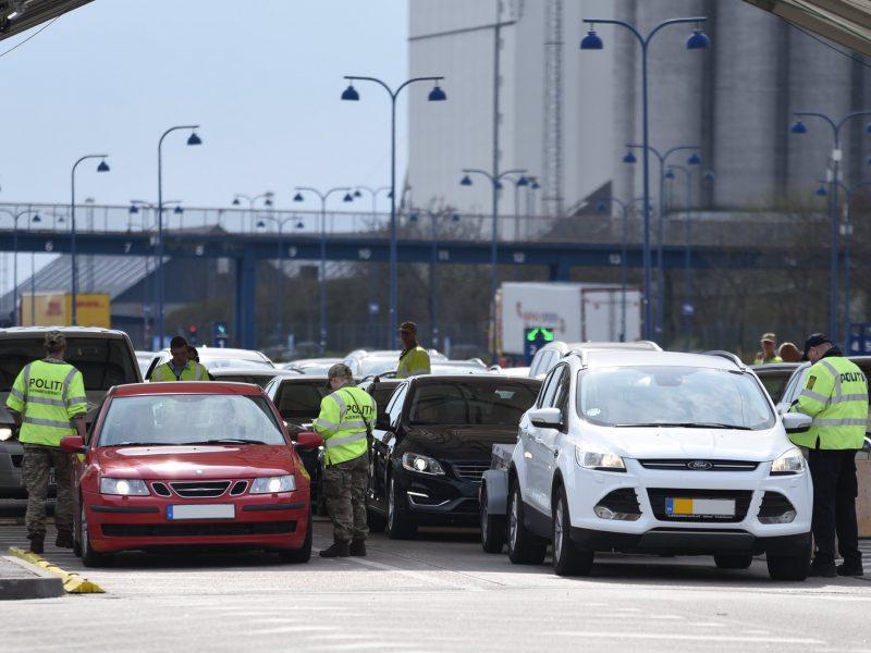 Kontrola na granicy Danii, źródło: Flickr, fot. Anders Bruun Nørring (CC BY 2.0)
