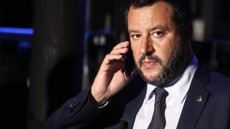 Lider opozycyjnej Ligi Matteo Salvini