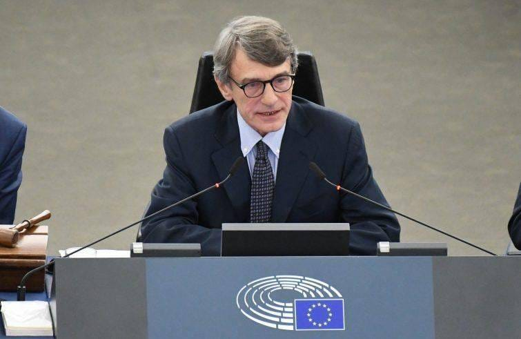 Przewodniczący Parlamentu Europejskiego David Sassoli [Facebook, David Sassoli]
