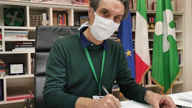Gubernator Lombardii Attilio Fontana [Facebook, @fontanaufficiale]