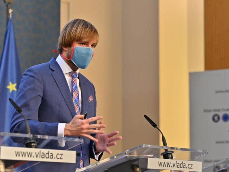 Minister Zdrowia Czech Adam Vojtěch / [źródło: Facebook.com]