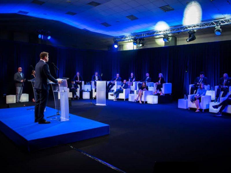 """""""Debata"""" Rafała Trzaskowskiego w Lesznie, fot. Rafał Trzaskowski [Facebook]"""