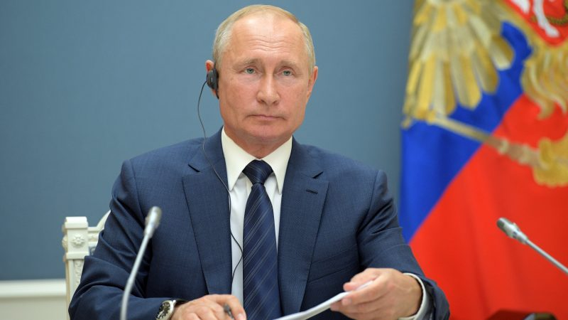 Prezydent Rosji Władimir Putin [Twitter, @KremlinRussia]