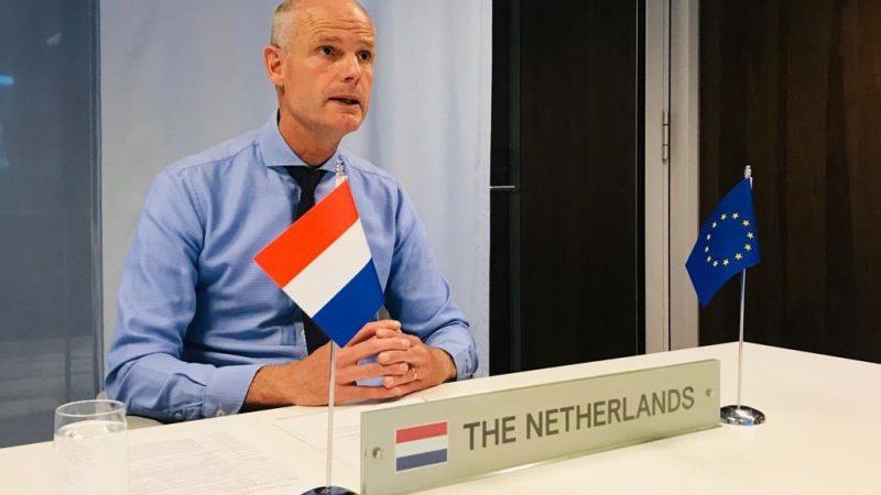 Minister spraw zagranicznych Holandii Stef Blok [Twitter, @ministerBlok]
