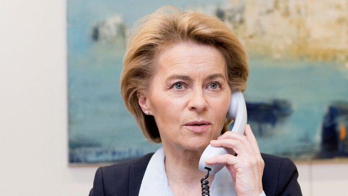 Przewodnicząca Komisji Europejskiej Ursula von der Leyen (na zdj.) zanim w lipcu 2019 r. została nominowana na szefową Komisji Europejskiej przez wiele lat była prominetną polityczka CDU.