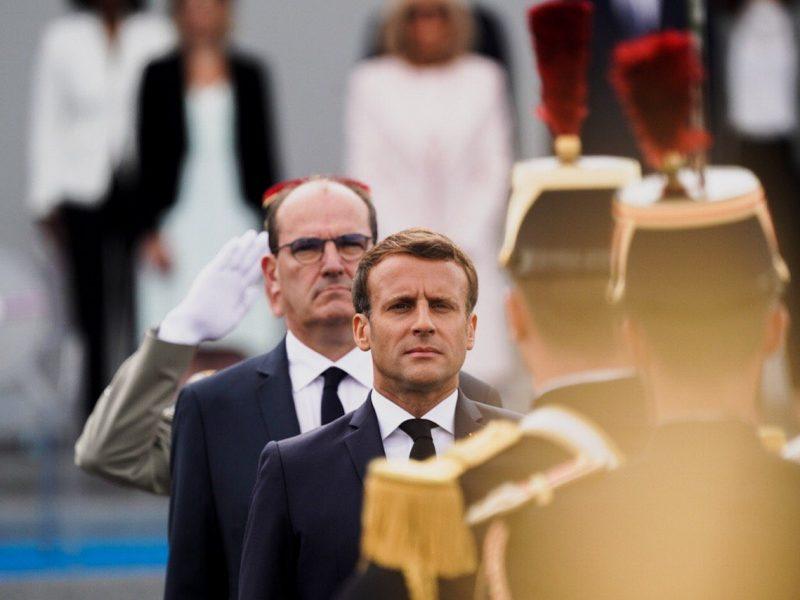 Francja, Macron, Le-Pen-wojskowi-list-islam-wojna-domowa