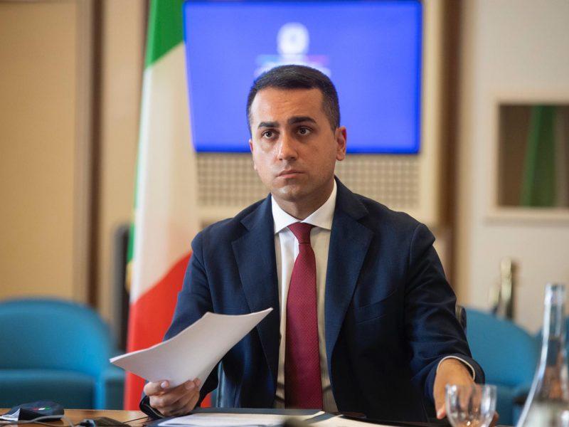 Minister spraw zagranicznych Włoch Luigi Di Maio [Twitter, @luigidimaio]