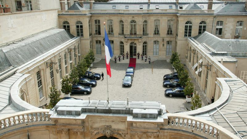 Hotel Matignon, siedziba premiera Francji, fot. Wikimedia
