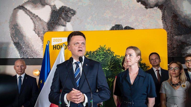Niezależny kandydat na prezydenta Szymon Hołownia, źródło twitter Szymon Hołownia Oficjalny