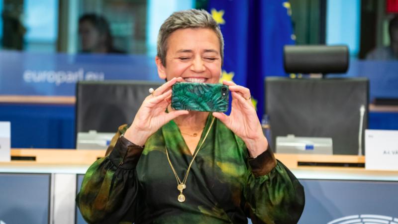 Wiceprzewodnicząca KE Margrethe Vestager, źródło: Flickr/European Parliament (CC-BY-4.0: © European Union 2019 – Source: EP)