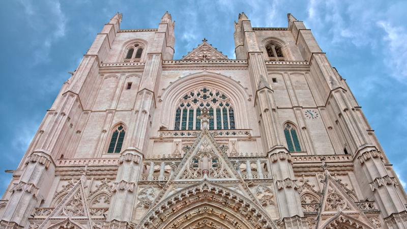 Front katedry w Nantes, źródło: Flickr, fot. Nicolas Raymond (CC BY 3.0)