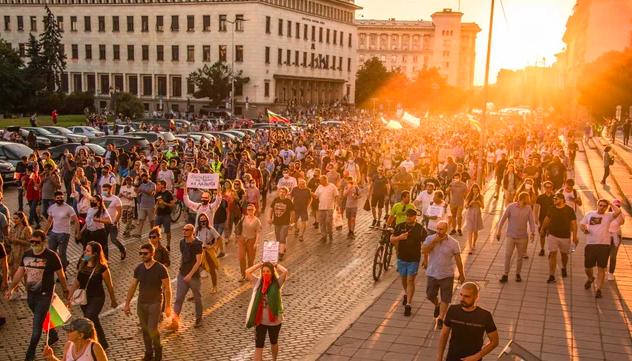 Antyrządowe protesty w Bułgarii trwająjuż 22 dni, źródło: Wikipedia/fot. u/AndyPhoenix (CC0 Public Domain)