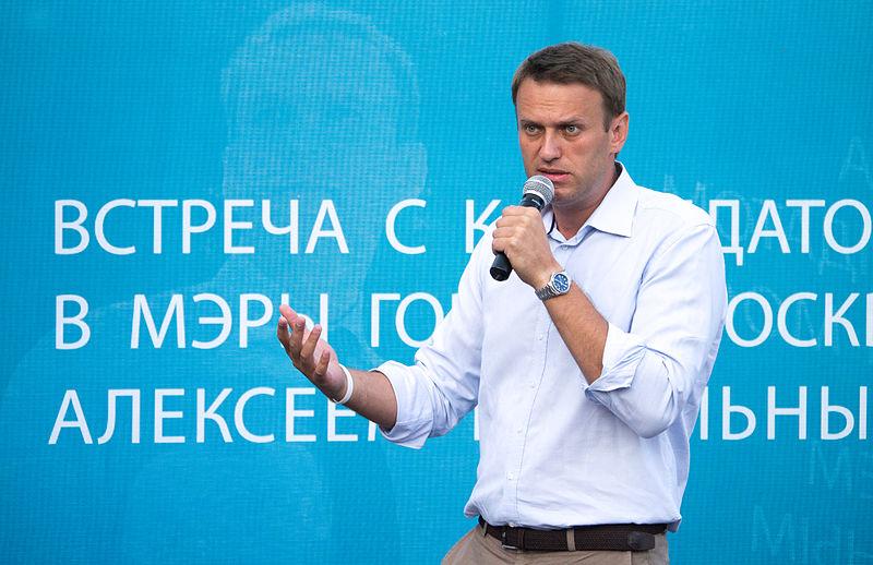 Aleksiej Nawalny, fot. Ilja Isajew [Wikimedia Commons, CC BY-SA 3.0]