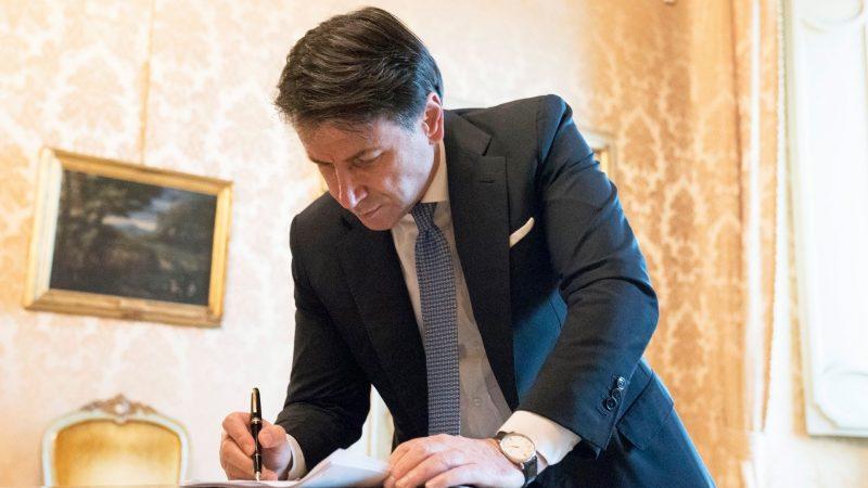 Premier Włoch Giuseppe Conte [Facebook, Giuseppe Conte]