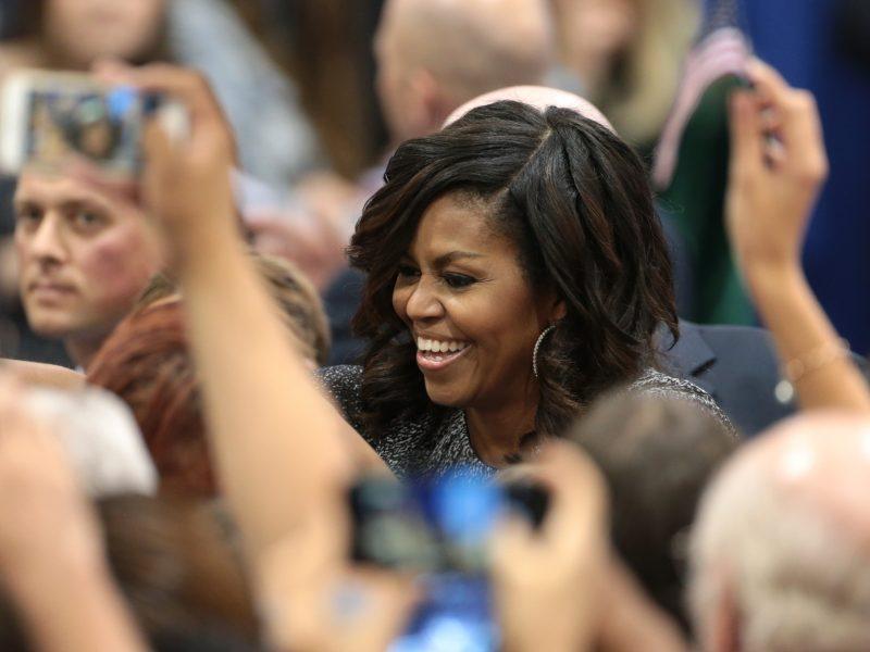 Michelle Obama, fot. Gage Skidmore [Flickr]