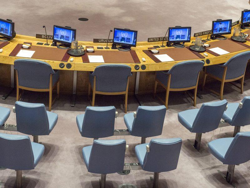 """Amerykański sekretarz stanuMike Pompeo stwierdził, że decyzja RB ONZ """"utoruje drogę wiodącemu światowemu sponsorowi terroryzmu do kupowania i sprzedawania broni konwencjonalnej bez większych ograniczeń""""."""