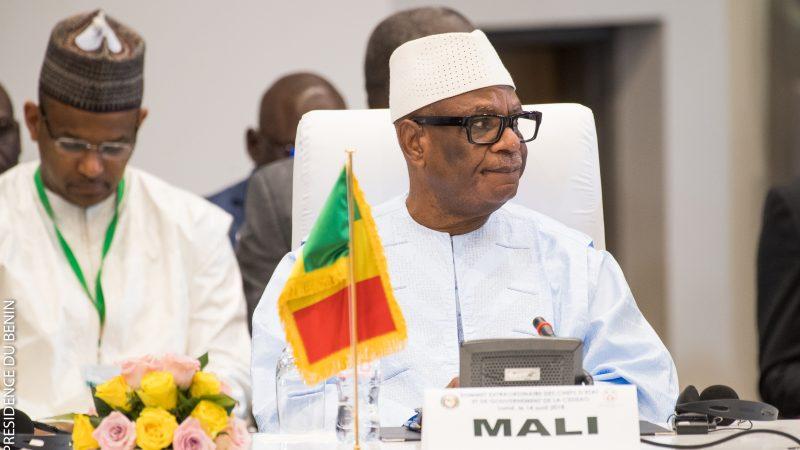 Ibrahim Boubacar Keïta (na zdj.) był prezydentem Mali od 2013 r.
