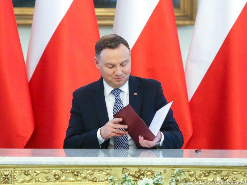 Prezydent Andrzej Duda, Polska, koronawirus, COVID19, SARS-CoV-2