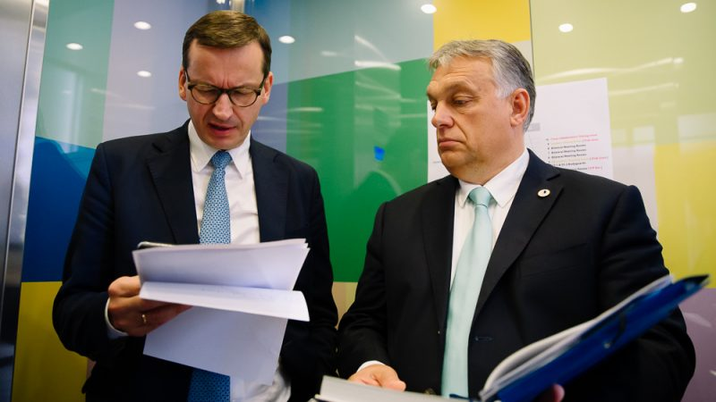 Premierzy Polski i Węgier Mateusz Morawiecki i Viktor Orbán, fot. Krystian Maj, KPRM [CC BY-NC-ND 2.0]