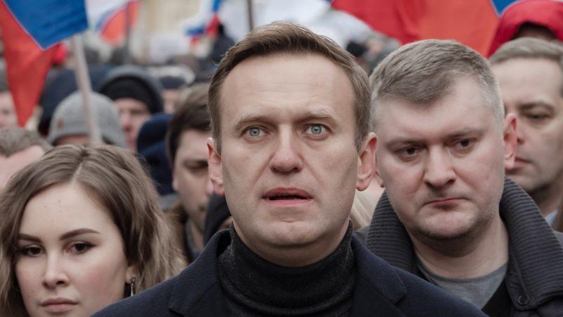 Rosyjski opozycjonista Aleksiej Nawalny.
