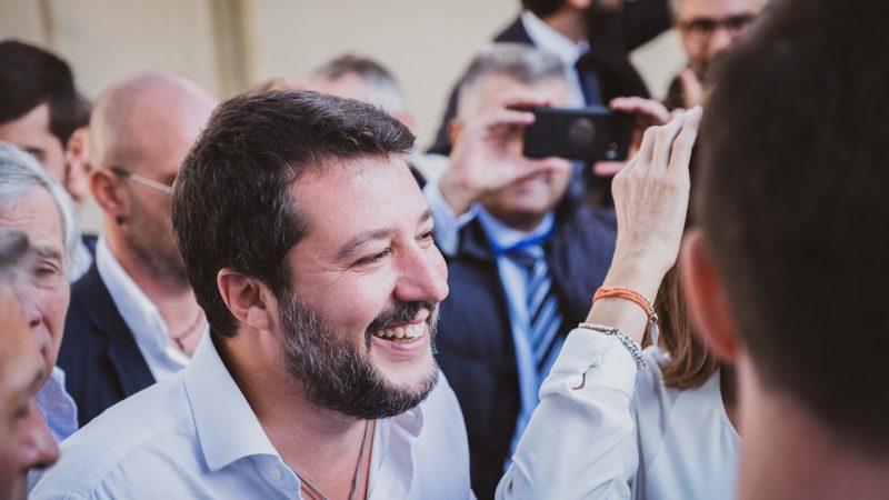 Szef partii Liga, były wicepremier i minister spraw wewnętrznych Matteo Salvini [Facebook, @salviniofficial]