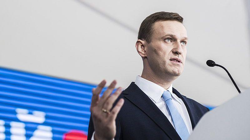 Aleksiej Nawalny, fot. Jewgienij Feldman {Wikimedia Commons, CC BY-SA 4.0]