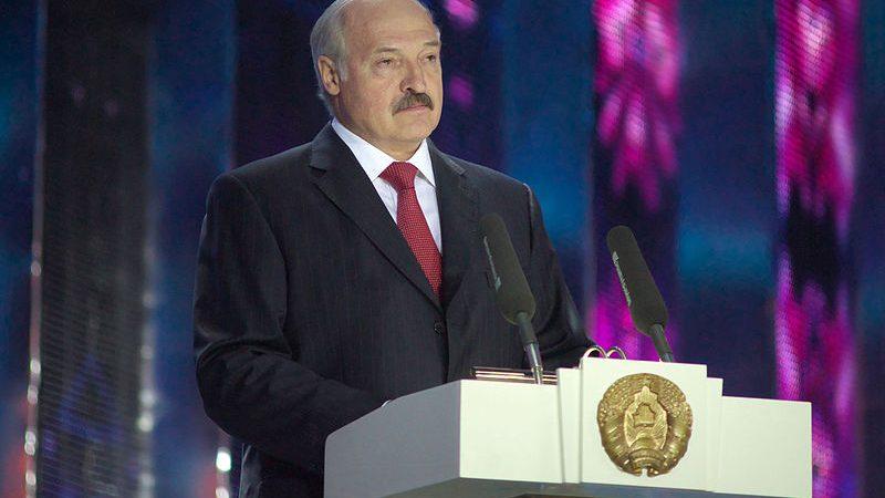 Prezydent Białorusi Alaksandr Łukaszenka, fot. Serge Serebro, Vitebsk Popular News [CC BY-SA 4.0]