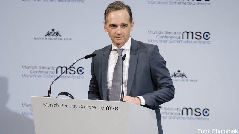 Minister spraw zagranicznych Niemiec Heiko Maas [Twitter, @HeikoMaas]