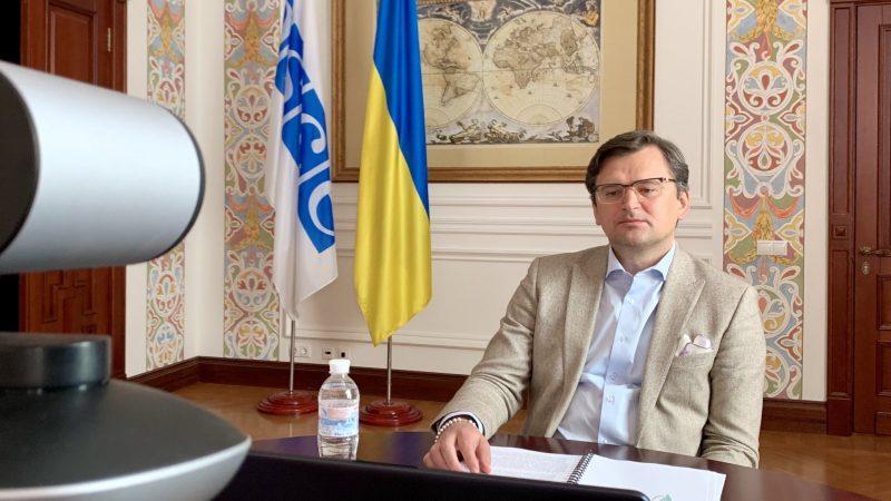 Minister spraw zagranicznych Ukrainy Dmytro Kułeba [Twitter, @DmytroKuleba]