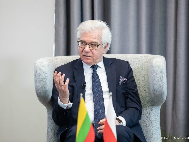 Ustępujący minister spraw zagranicznych Jacek Czaputowicz, fot. Tymon Markowski, MSZ