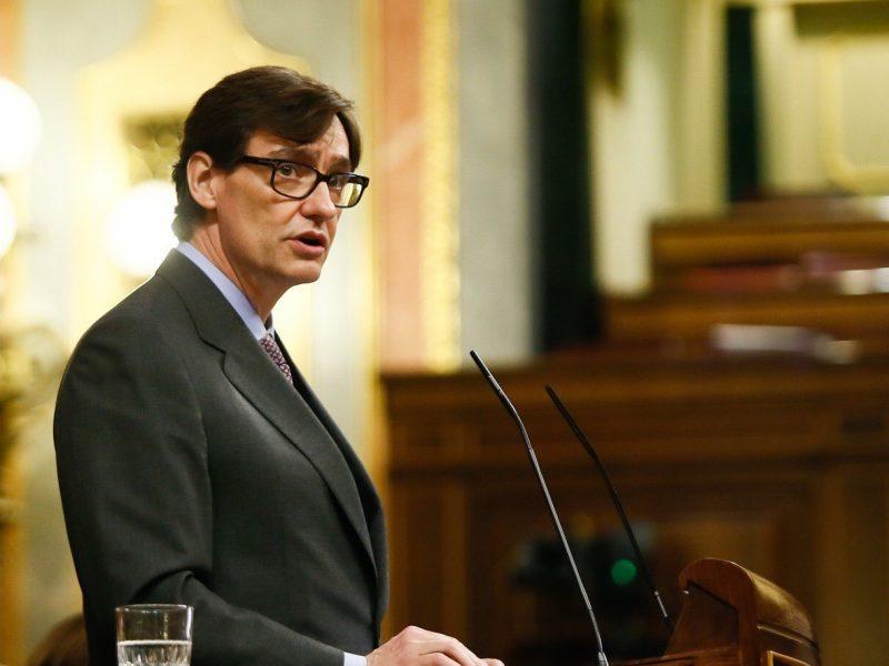 Hiszpański minister zdrowia Salvador Illa [Twitter, @salvadorilla]