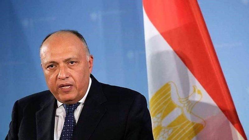 Minister spraw zagranicznych Egiptu (Sameh Shoukry)/ Foto [Twitter, @SamehShoukry0]