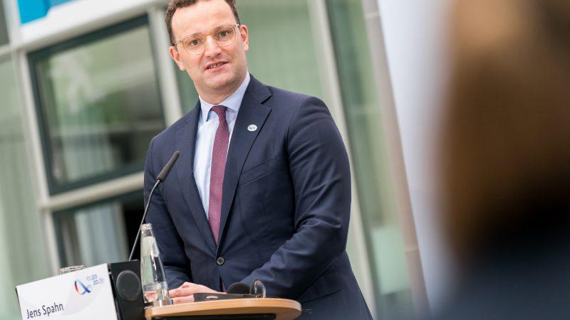 Minister zdrowia Niemiec Jens Spahn / Foto via twitter @BMG_Bund