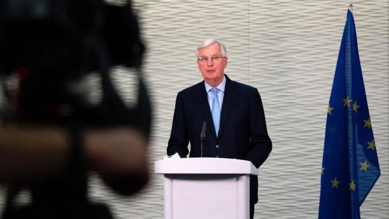 Główny unijny negocjator Michel Barnier jest zawiedzony brakiem postępu w sprawie umowy UE z Wielką Brytanią