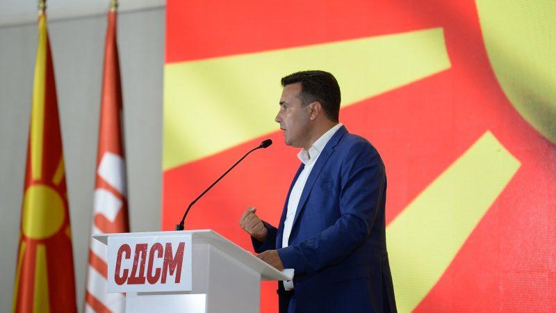 Nominowany na premiera Zoran Zaew, premier Byłej Jugosławiańskiej Republiki Macedonii i późniejszej Macedonii Północnej w latach 2017-2020 [Twitter, @Zoran_Zaev]