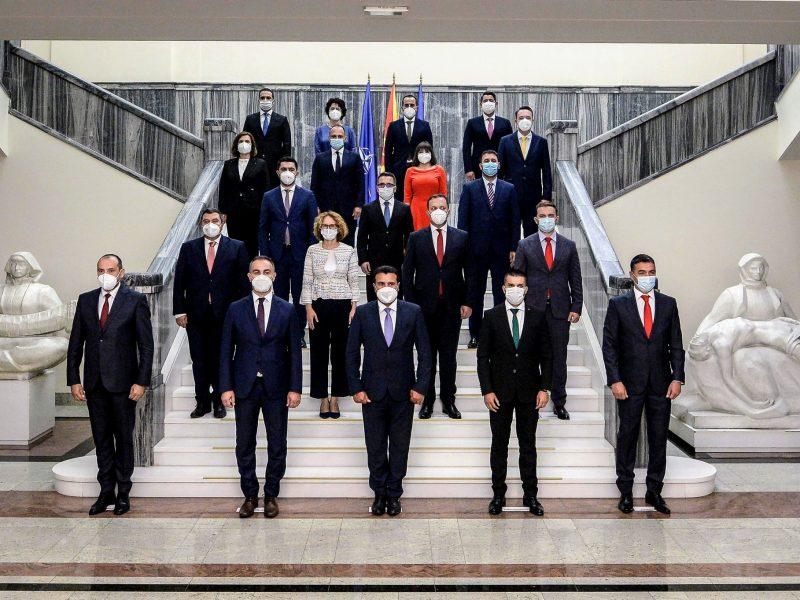 Nowy rząd Republiki Macedonii Północnej na czele z premierem Zoranem Zaewem [Twitter, @Zoran_Zaev]