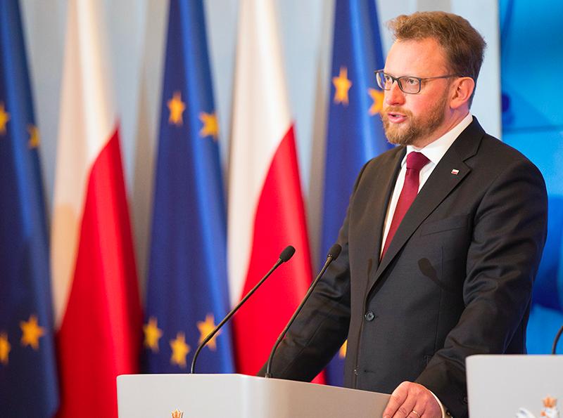 Minister zdrowia Łukasz Szumowski, źródło: KPRM (Public Domain Mark 1.0)