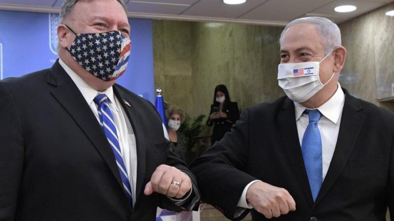 Premier Izraela Binjamin Netanjahu i sekretarz stanu USA Mike Pompeo, for. Kobi Gideon [@Facebook Benjamin Netanjahu]